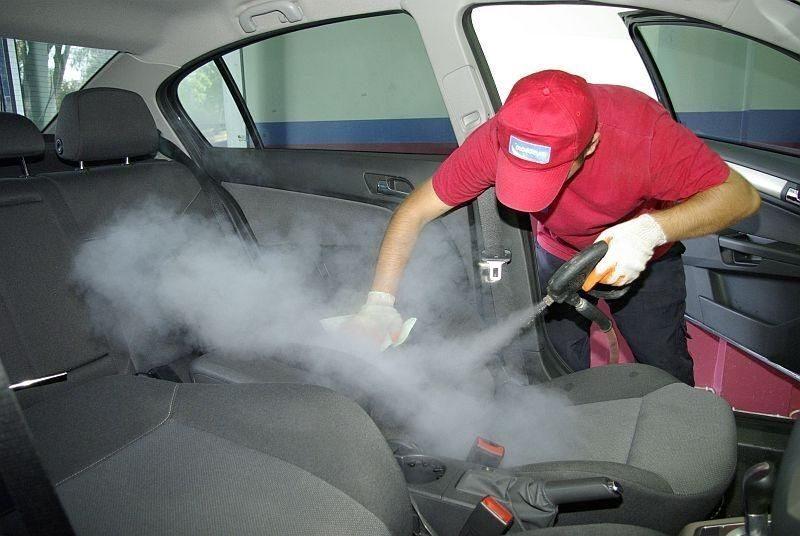 Химчистка машин своими руками